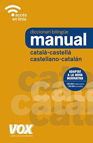 Diccionari Manual Català-Castellà / Castellano-Catalán (Vox - Lengua Catalana - Diccionarios Generales)