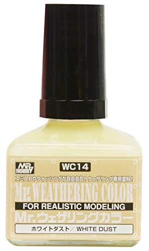 GSIクレオス Mr.ウェザリングカラ- ホワイトダスト 40ml 模型用塗料 WC14