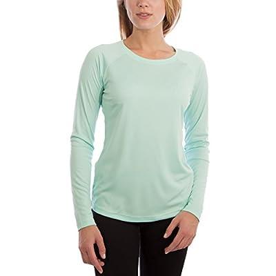 Vapor Apparel Women's UPF 50+ UV Sun Protection Outdoor Performance Long Sleeve T-Shirt Medium Seagrass