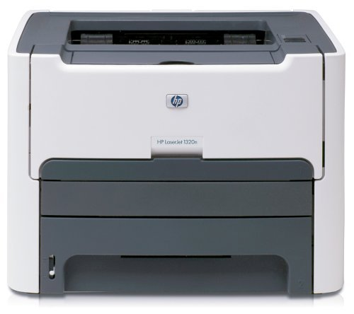 HP LaserJet 1320n Monochrome Network Printer (Renewed)