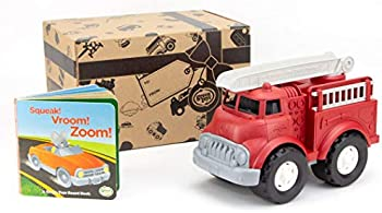 Green Toys Fire Truck & Sounds Board Book
