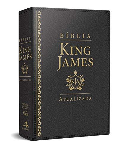 Bíblia de Estudo King James Atualizada - Letra Grande - Luxo Preta