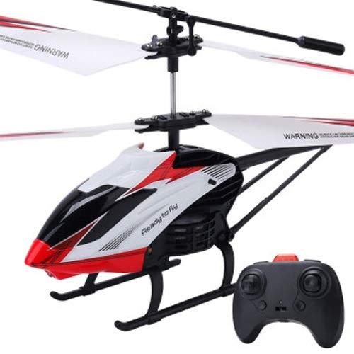 Lihgfw Fernbedienung Flugzeugmodell 2.4g UAV-Kinderhubschrauber Große Fall-resistente Flugzeug Jungen Spielzeug Kindergeburtstagsgeschenk 3.5 bis rot für Kinder über 2 Jahre alt (Color : Rot)