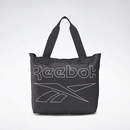 Reebok Womens Essentials Tote Bolsa, Mujer, Negro, Talla Única