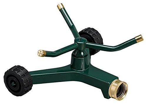 Orbit 58257N Metal 3-Arm Sprinkler with Wheeled Base
