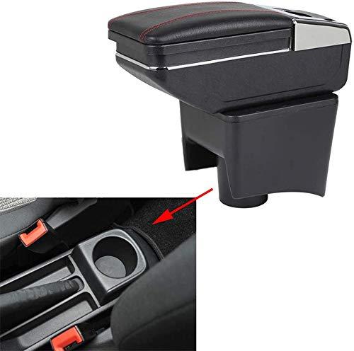szss-car piel coche centro consola apoyabrazos cajaApoyabrazos Caja de almacenamiento