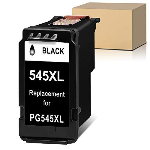 Sunnieink PG 545XL - Cartuchos de tinta remanufacturados para Canon 545 PG-545XL (1 unidad), color negro 2950s Impresora