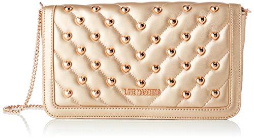 Love Moschino Jc4237pp0a, Pochette da Giorno Donna, Oro (Copper), 6x14.5x26 cm (W x H x L)
