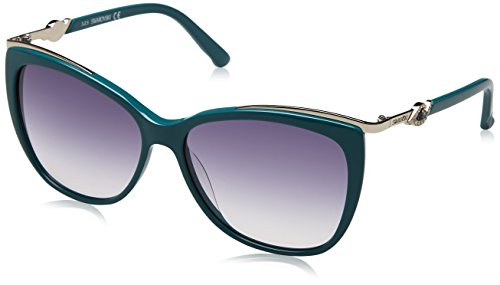 Swarovski Sunglasses Sk0104 87W-57-14-135 Occhiali da Sole, Blu (Blau), 57 Donna