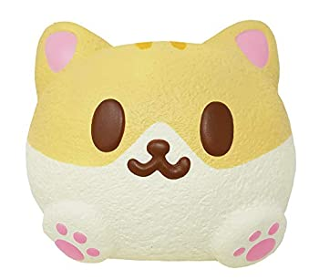 iBloom Kitty Pan Cat Cute Slow Rising Squishy Toy  Cannelle Bread Scented 3 Inch  for Party Favors Stress Balls Gift Box Birthday Gift Boxes Kawaii Squishies for Kids Girls Boys Adults