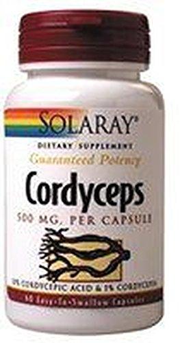 Cordyceps 60 cápsulas de Solaray