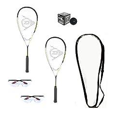 2-Dunlop Hyper Lite Ti Racquets