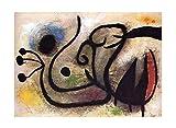Cuadro en Lienzo Joan Miro《Título desconocido》 Lienzos Decorativos   Cuadros Decoración Dormitorios   Cuadros Decoración Salón   Cuadros y láminas (50x70cm (20x28inch), Sin marco)