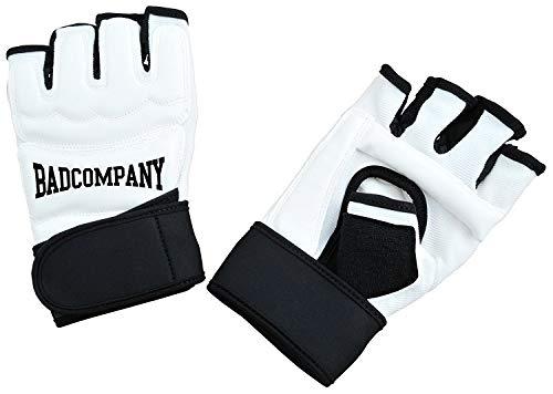 Profi PU FreeFight MMA Handschuhe Modern Lights weiß Abbildung 3