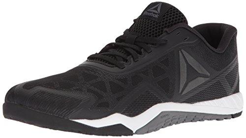 Reebok Men's ROS Workout TR 2.0 Sneaker, Black/Alloy/White, 6.5 M US