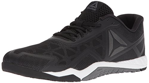 Reebok Men's ROS Workout TR 2.0 Sneaker, Black/Alloy/White, 10 M US