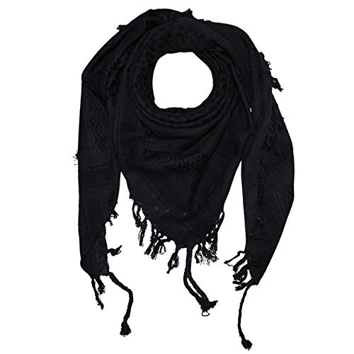 Superfreak Palituch - grau-dunkelgrau - schwarz - 100x100 cm - Pali Palästinenser Arafat Tuch - 100% Baumwolle