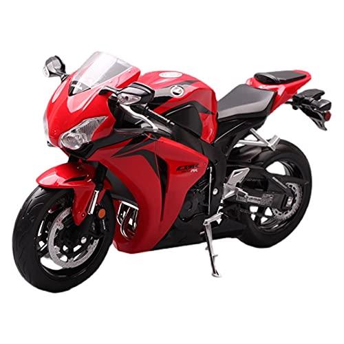Boutique Willy 1:10 para HO┐NDA KAW┐ASAKI Simulación De Aleación Modelo De Motocicleta Colección Regalo para Niños Coche De Juguete (Color : Rojo)