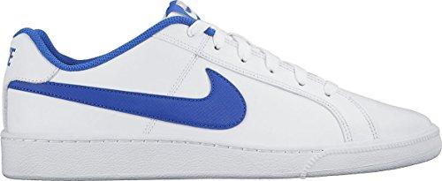Nike Court Royale, Sneakers Basses Homme, Blanc Cassé (White/game Royal), 42.5 EU