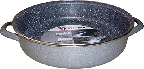 Vitrinor Vitrificados Del Norte VIT078 Tegame, Smalto, Multicolore