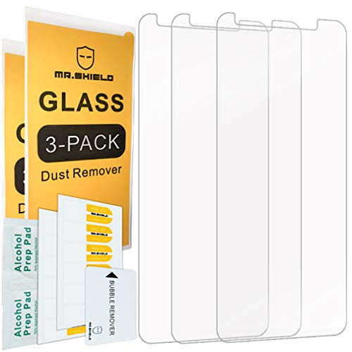 [3-PACK]-Mr.Shield For TCL LX [Tempered Glass] Screen Protector with Lifetime Replacement