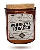 Patriot candles scents and Spirits Whiskey and Tobacco 15oz