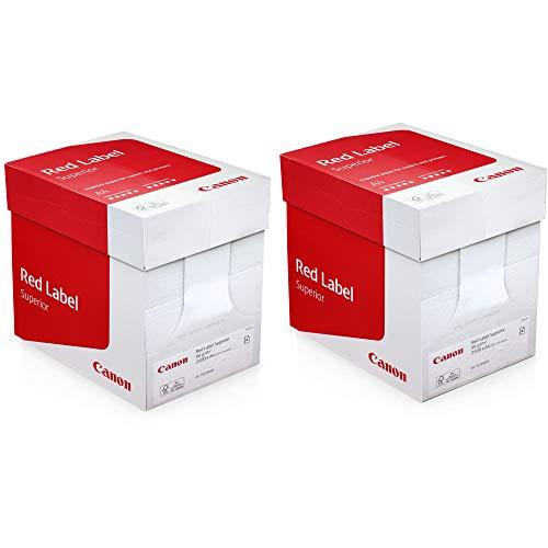 Kopierpapier Druckerpapier Red Label FSC DIN A4 90g/m² Hochweiß gelocht 5000 Blatt