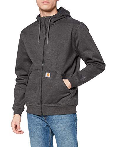 Carhartt Herren Wind Fighter Sweatshirt, Carbon Heather, L