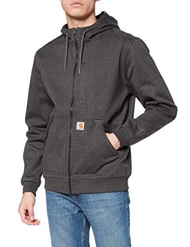 Carhartt Herren Wind Fighter Sweatshirt, Carbon Heather, L