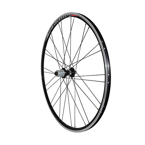 VELOX Roue Route 700 Omega Arriere Noir MOY miche Reflex roulement pour Campa 11-10v. Ray. INOX Noir 32t.
