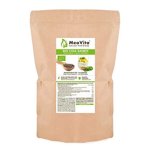 MeaVita Graines de Bio Chia 1 kg