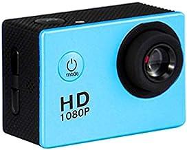 $76 » Wangxirou-US 2.0 inch LCD Screen(Black), Generalplus 6624, Sport Camera with 30m Raincoat Case (Color : Blue)