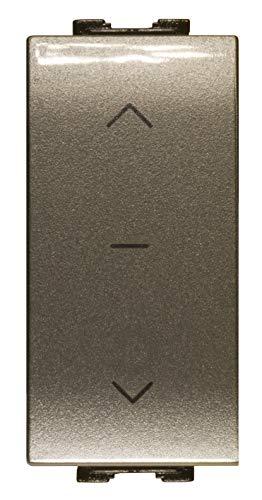 FEB 14022/TEC dubbele knop interlock, lichtgrijs