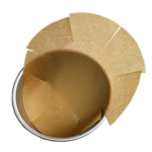 Feuilles de Papier Cuisson, 100 feuilles Ø31cm, anti-adhésif de Papier Parchemin Papier sulfurisé