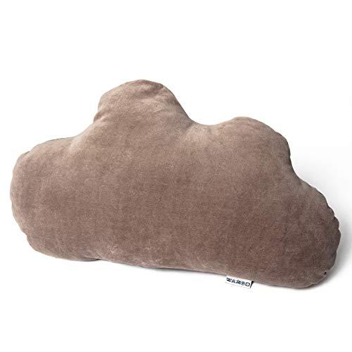 Cumulu - das Schlaf-Gut-Kissen für Seiten-, Bauch und Rückenschläfer - entwickelt von Schlafexpertin Christine Lenz mit Alpenkräuter-Innenkissen und Thermokissen - auch für Reisen (Nordseesand)