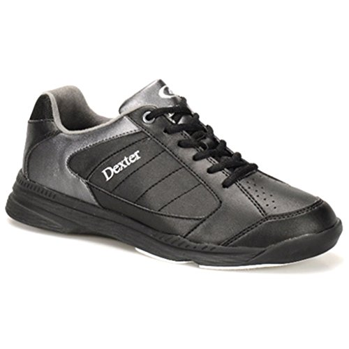 Dexter Men's Ricky IV Bowling Shoes, Black/Alloy, Size 11/Medium