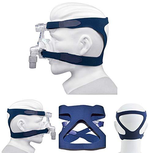 Universal Headgear Comfort Gel Full Face Mask Repuesto de banda de cabeza de vía aérea(sin máscara)
