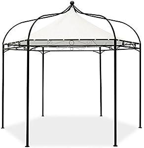 Alium Furniture Tonnelle Harlington Deluxe Structure en Acier Auvent