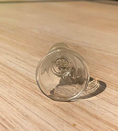 YF420 El Nuevo Vidrio de Cristal del dise/ño con el Vidrio de la Pantalla del Panal en los tazones de Fuente Bong el tama/ño del comp/ás del percolador 18.8mm o de 14.5mm 14.5