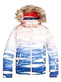 Roxy Jet Ski 8-16 Giacca Da Snowboard, Bambina, Mid Denim Yumi Yamada Print, L