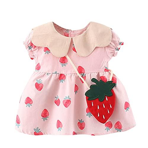 Fossen Ropa Bebe Niña Verano, Vestidos de Princesa de Verano con Flores Florales ypara bebés y niñas