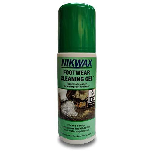Nikwax Footwear Cleaning Gel for Waterproof Outdoor Sports Footwear Boots 125ml by Nikwax