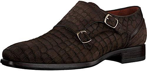 Greve Herren Ribolla 1446 Business Schuhe, Braun, 42 EU