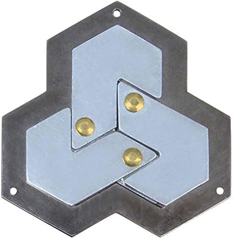 Hexagon Hanayama Cast Metal Brain Teaser Puzzle by Hanayama