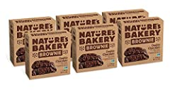 DOUBLE CHOCOLATE Real cocoa, dates and whole wheat come together in a delightfully satisfying snack CONVENIENCE Need a sweet snack and don't want to feel guilty about it? Nature's Bakery Brownie Bars are a perfect snack for kids or adults. Grab one a...