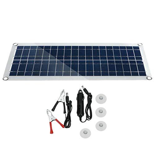 TOOGOO : Kit panneau solaire flexible 30W, 2 ports USB