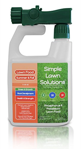 Ultimate 3-18-18 NPK- Lawn Food Quality Liquid Fertilizer- Concentrated Spray- Any Grass Type-...