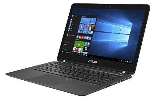 Asus Zenbook Flip UX360UAK-BB284T 33,7 cm (13,3 Zoll mattes FHD, Touch) Laptop (Intel Core i7-7500U, 8 GB Arbeitsspeicher, 256 GB SSD Festplatte, Intel HD Grafik, Win 10) schwarz