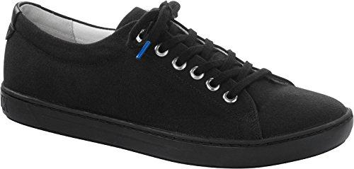 BIRKENSTOCK Damen Arran Textil Sneaker Black Größe 39 Schmal