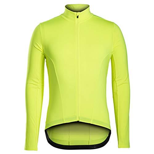 Bontrager Velocis Thermal Winter Fahrrad Trikot gelb 2021: Größe: M (46/48)